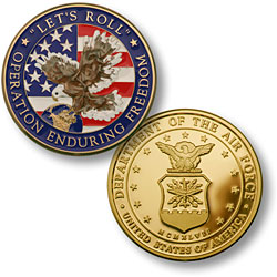 Enduring Freedom - USAF Seal MerlinGold®