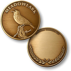 Meadowlark Bronze Antique