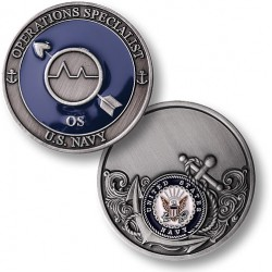 Navy Operations Specialist - Enamel