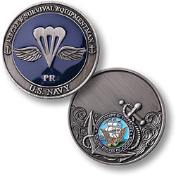 Navy Aircrew Survival Equipmentman - Enamel