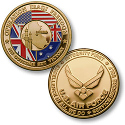Operation Iraqi Freedom - Air Force MerlinGold®