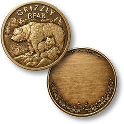 Grizzly Bronze Antique
