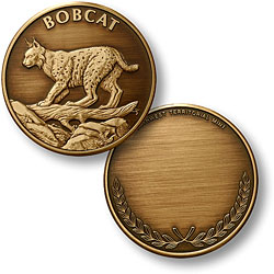 Bobcat Bronze Antique