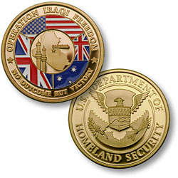 Operation Iraqi Freedom - Homeland Security MerlinGold®