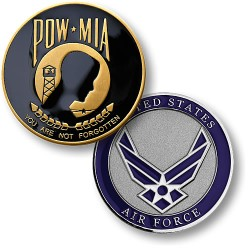 POW MIA Air Force Seal