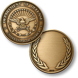 Department of Defense Bronze Antique