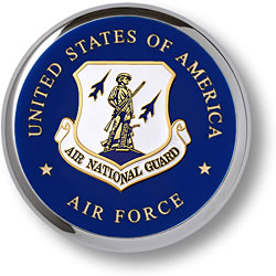 Air National Guard Chrome Coaster