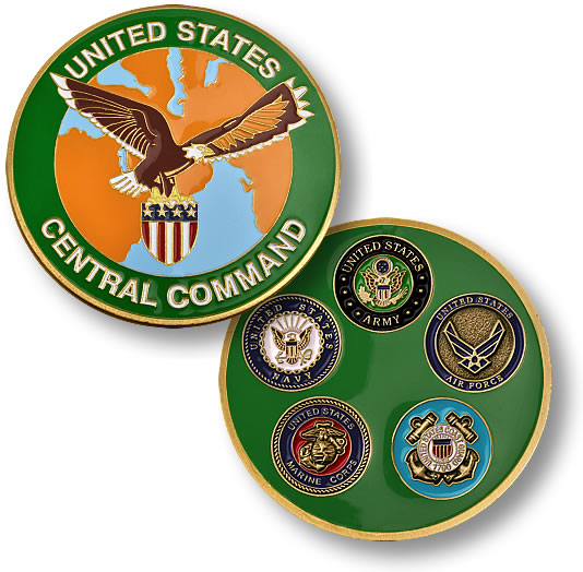 U S Central Command Coin