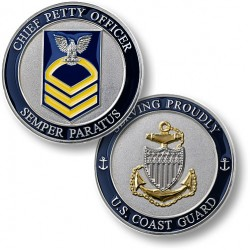 Coast Guard E7 Chief Petty Officer