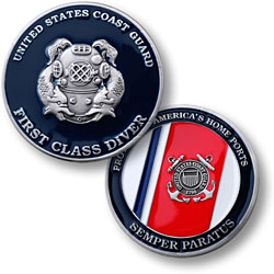 Coast Guard First Class Diver