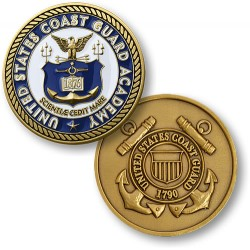 Coast Guard Academy Enamel