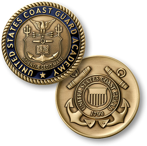USCG Integrated Support Command Honolulu Challenge Coin US Coast Guard Pacific