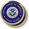 Coast Guard Homeland Security 2 Coaster Set