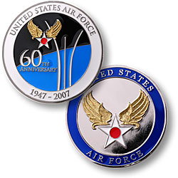 Air Force 60th Anniversary - 3 inch