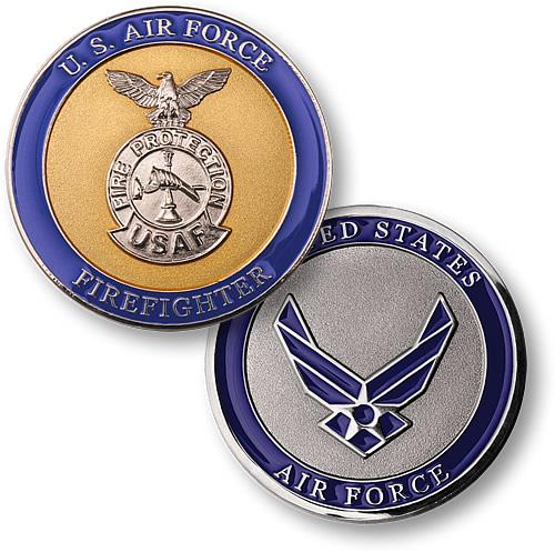 Firefighter - U S  Air Force