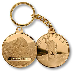 Half Dome Summiteer Keychain MerlinGold®