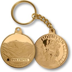 Mt. Olympus Mountain Climber Keychain MerlinGold