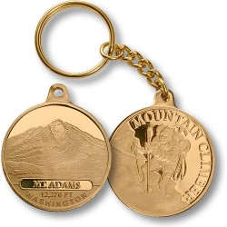 Mt. Adams Mountain Climber Keychain MerlinGold®