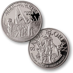 America Unites Nickel Proof-like