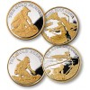Gold Seeker Four Coin Set