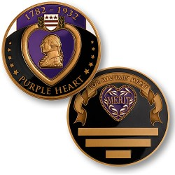 Purple Heart Medal Coin