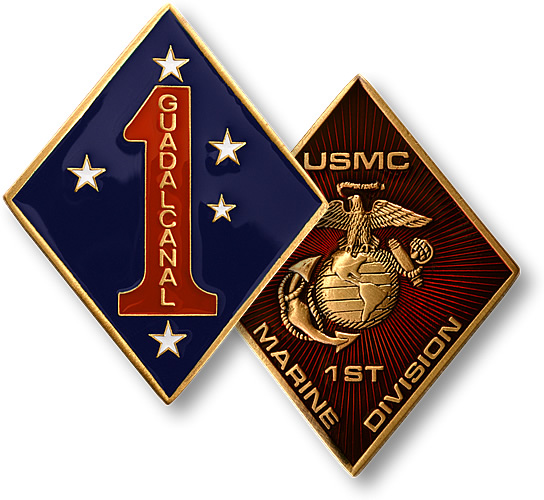 1st Marine Division - Coin