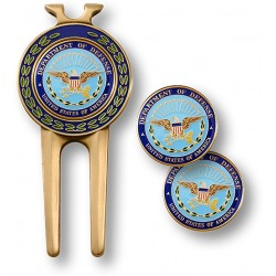 Department of Defense Divot Tool and Ball Markers