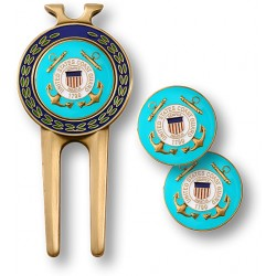 Coast Guard Divot Tool and Ball Marker
