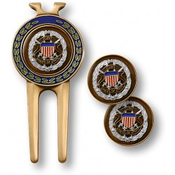 Joint Chiefs of Staff Divot Tool and Ball Markers