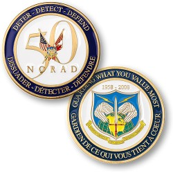 NORAD 50th Anniversary Coin