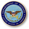 Department of Defense Adhesive Medallion - 1 3/4""