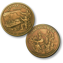 Lewis & Clark Bronze Antique