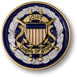 Joint Chiefs of Staff Adhesive Medallion 1 3/4""