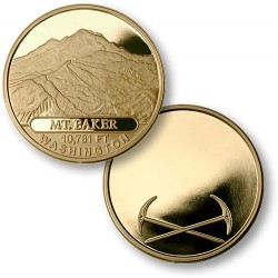 Mt. Baker MerlinGold® Engravable
