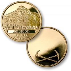 Mt. Hood MerlinGold® Engravable