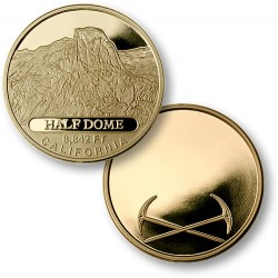 Half Dome MerlinGold® Engravable