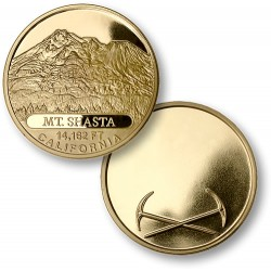 Mount Shasta MerlinGold® Engravable