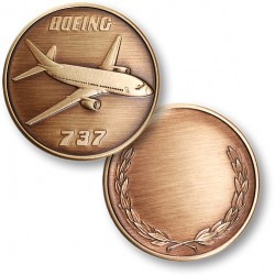 Boeing 737 Bronze Antique