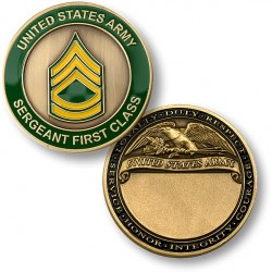 U.S. Army Sergeant First Class Engravable