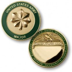 U.S. Army Major Engravable
