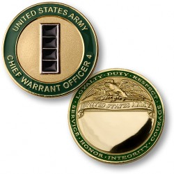 U.S. Army Chief Warrant Officer 4 Engravable