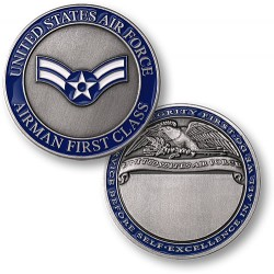Airman First Class Engravable