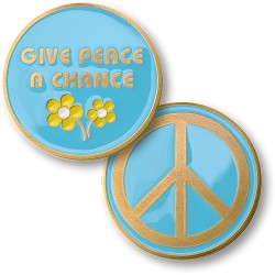 Give Peace A Chance Coin