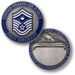 First Sergeant Engravable (E-8)