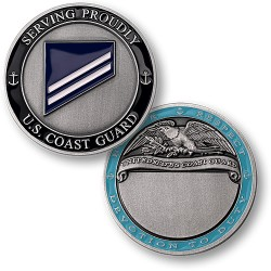 Coast Guard E2 Seaman Apprentice Engravable