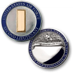 Air Force - Second Lieutenant  Engravable