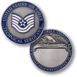 Technical Sergeant Air Force Engravable