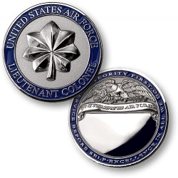 Lieutenant Colonel Air Force - Engravable
