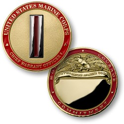 U.S. Marines Chief Warrant Officer 5 - Engravable