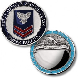 Coast Guard Petty Officer 2nd Class - Engravable